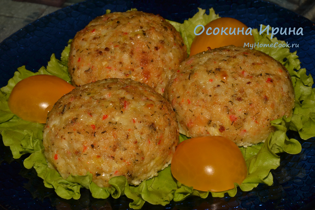 Your food today for Baked fish cakes